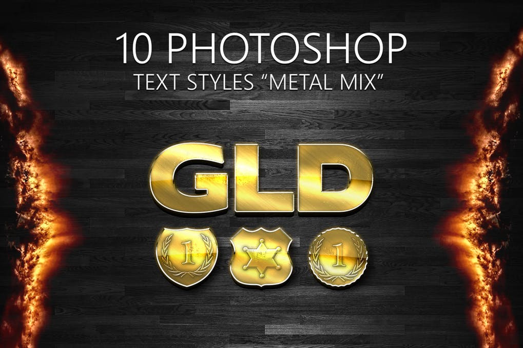10-Photoshop-Styles-1 - 33+ NICE Shiny Metallic Photoshop Effect Styles [year]