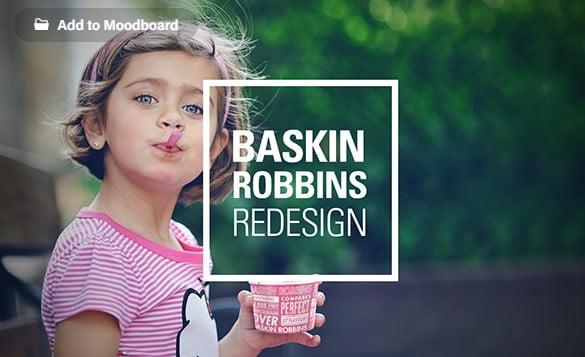 Baskin-Robbins - 53+ FREE Typographic Business Cards IDEA [year]