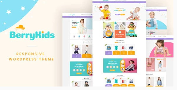 BerryKid - 35+ COOL Toy and Game Store WordPress Themes [year]