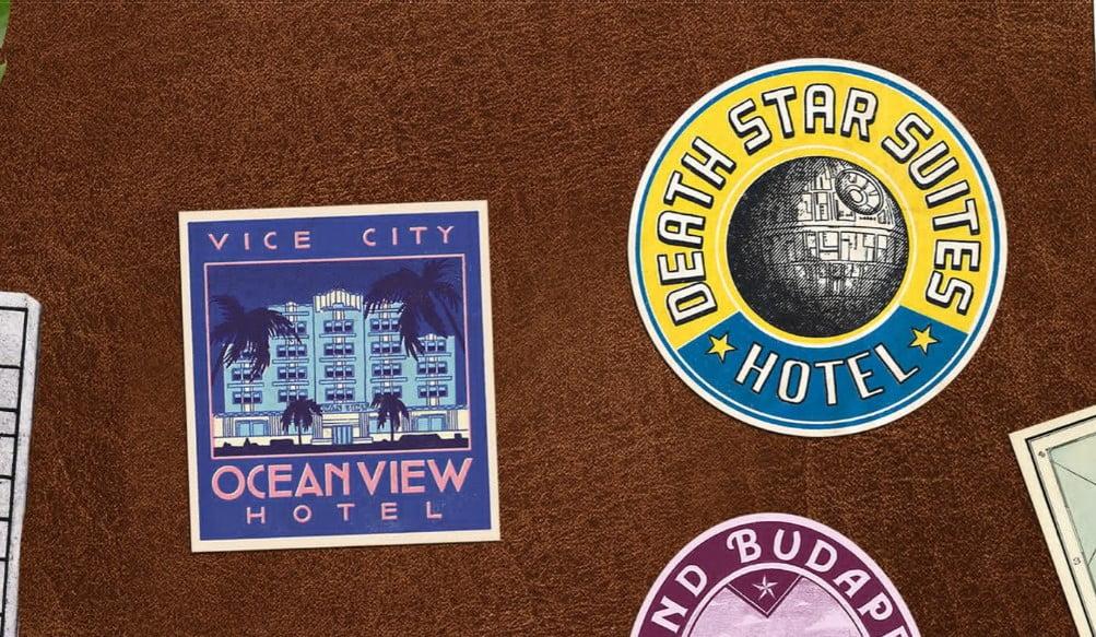 Bon-Voyage - 33+ FREE Typographic Sticker Designs IDEA [year]