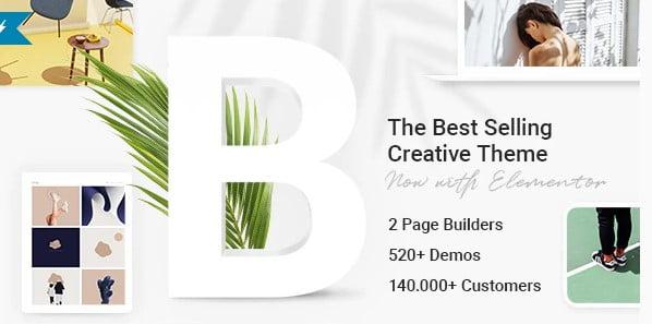 Bridge - 40+ Coffee & Tea Website WordPress Themes [year]