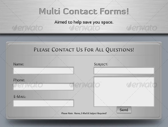 CSS-Contact-Form-Design - 39+ FREE CSS Contact Form Design IDEA [year]