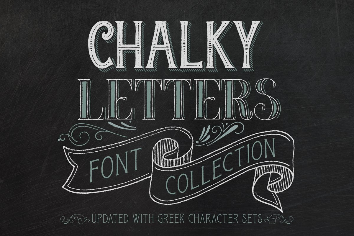 Chalky - 38+ COOL Ornate Vintage & Retro Fonts [year]