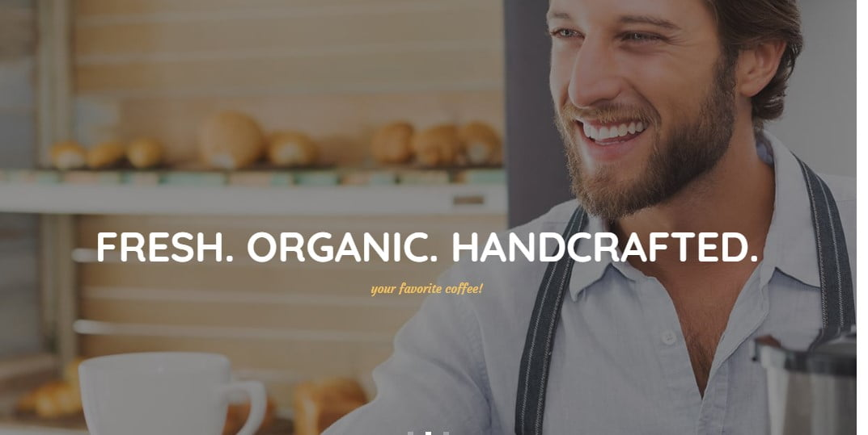 Coffee-Luck - 33+ BEST Coffee, Tea & Bakery WordPress Themes [year]