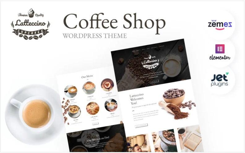 Coffee-Tea-Website-WordPress - 40+ Coffee & Tea Website WordPress Themes [year]