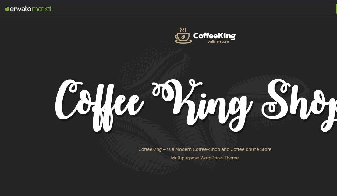 CoffeeKing-3 - 40+ Coffee & Tea Website WordPress Themes [year]