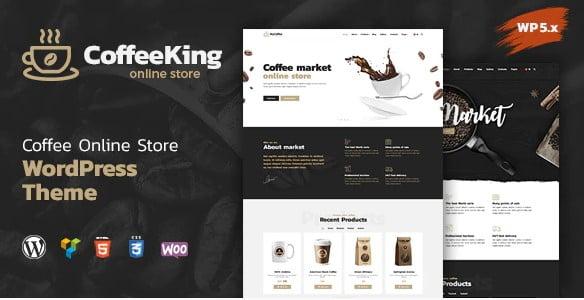 CoffeeKing-4 - 40+ Coffee & Tea Website WordPress Themes [year]
