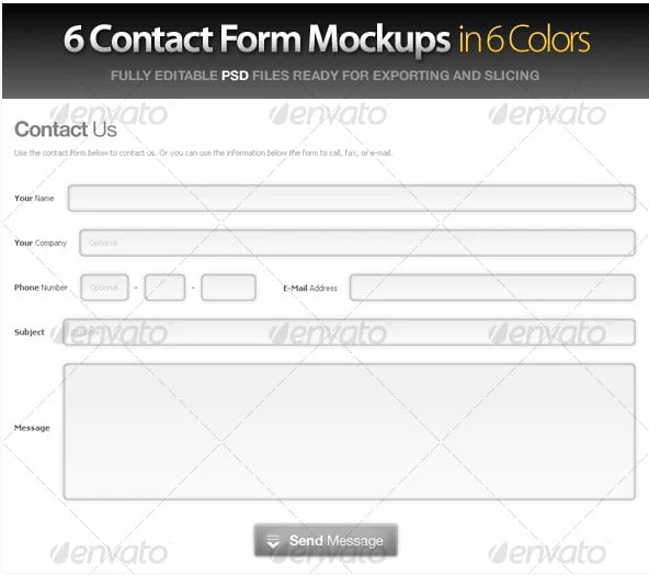 Contact-Forms - 39+ FREE CSS Contact Form Design IDEA [year]