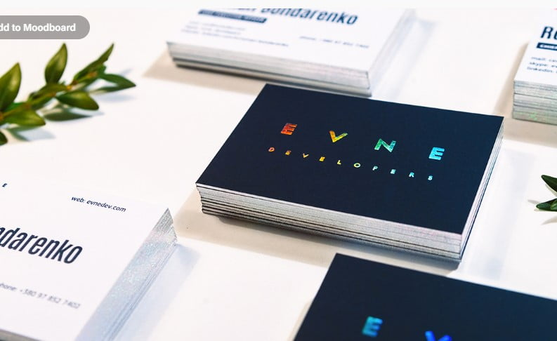 EVNE-Developers - 53+ FREE Typographic Business Cards IDEA [year]