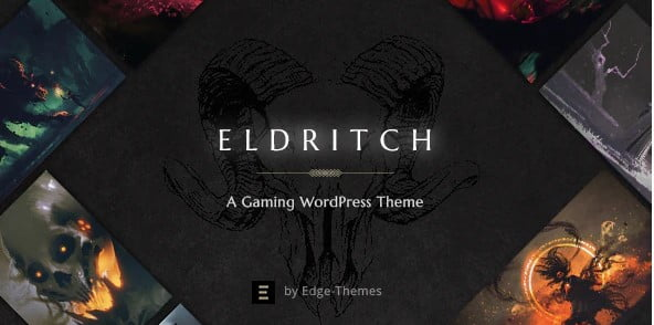 Eldritch - 35+ COOL Toy and Game Store WordPress Themes [year]