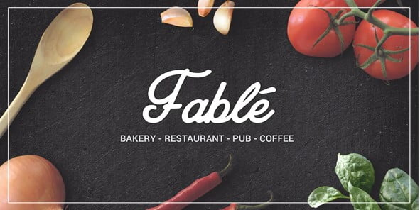 Fable-1 - 40+ Coffee & Tea Website WordPress Themes [year]