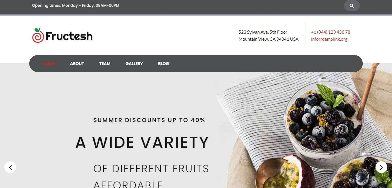 Food-Drink-WordPress-Theme - 35+ AWESOME Food & Drink WordPress Theme [year]