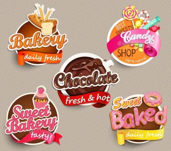 Food-Label - 33+ FREE Typographic Sticker Designs IDEA [year]