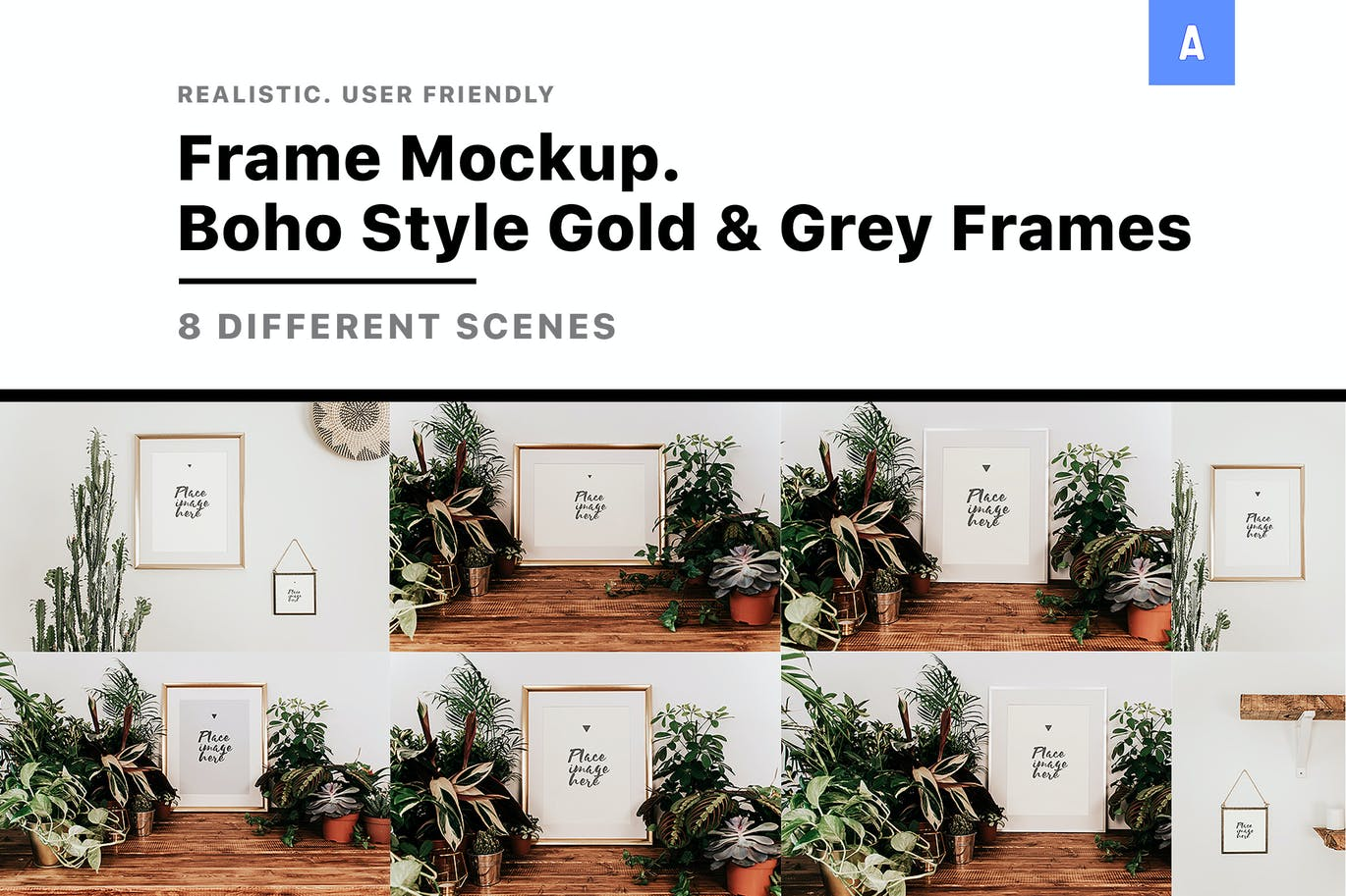 Frame-Mockup - 48+ BEST Web & Graphic Designers PSD Mockup Templates [year]