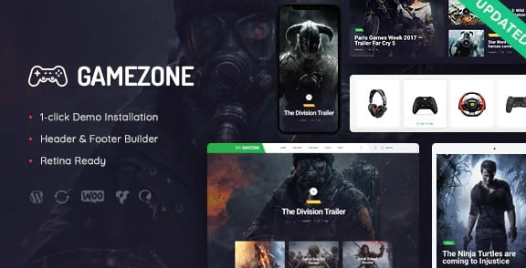 Gamezone - 35+ COOL Toy and Game Store WordPress Themes [year]
