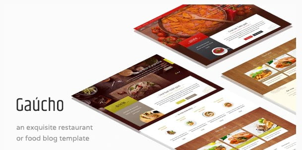 Gaucho - 35+ AWESOME Food & Drink WordPress Theme [year]
