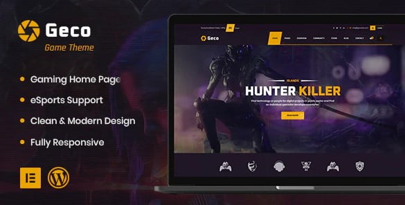 Geco - 35+ COOL Toy and Game Store WordPress Themes [year]