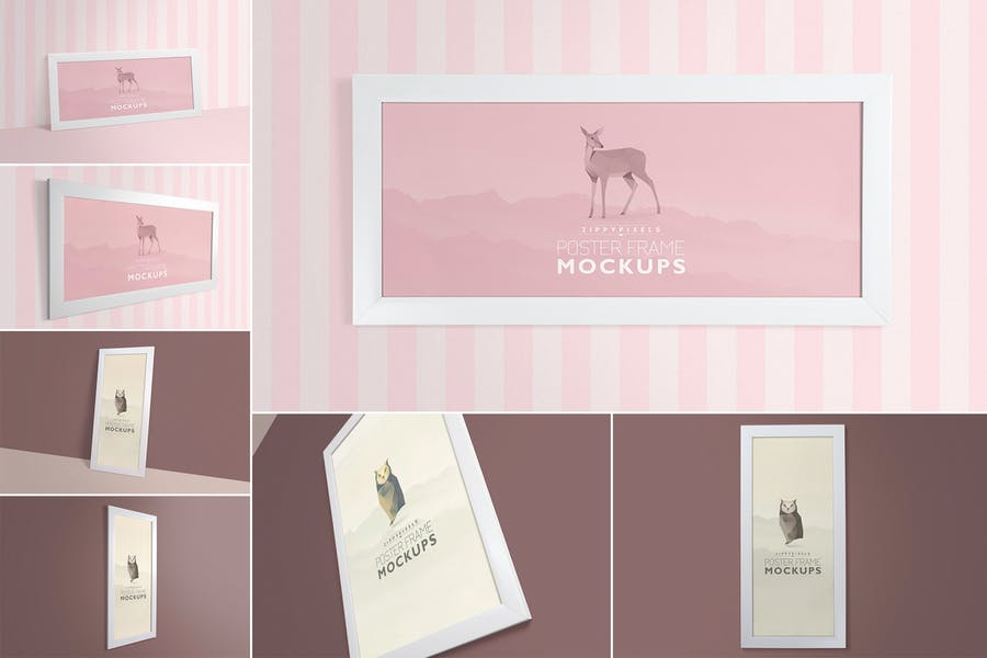 Gorgeous-Frame - 48+ BEST Web & Graphic Designers PSD Mockup Templates [year]