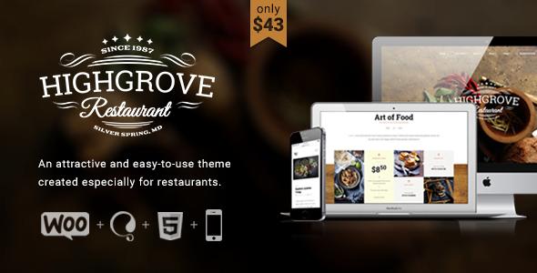 HG-Restaurant-1 - 40+ Coffee & Tea Website WordPress Themes [year]