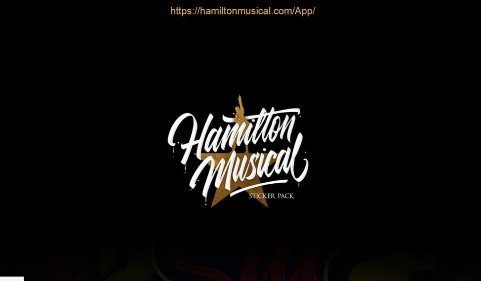 Hamilton-Musical - 33+ FREE Typographic Sticker Designs IDEA [year]