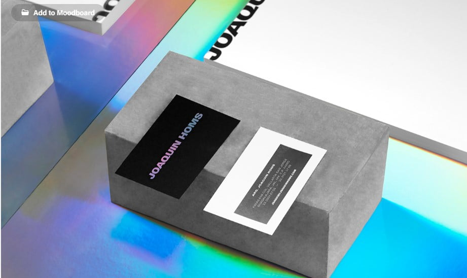 Joaquin-Homs-1 - 53+ FREE Typographic Business Cards IDEA [year]