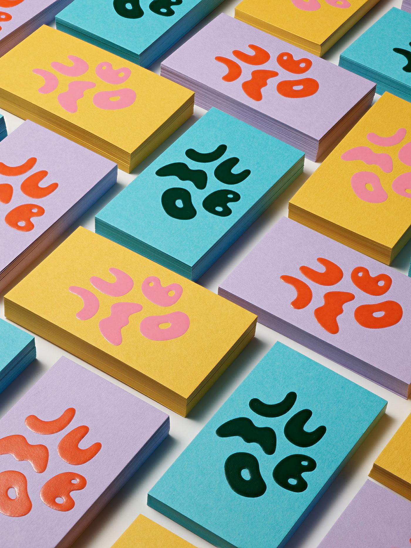 Jumbo-Logo - 53+ FREE Typographic Business Cards IDEA [year]