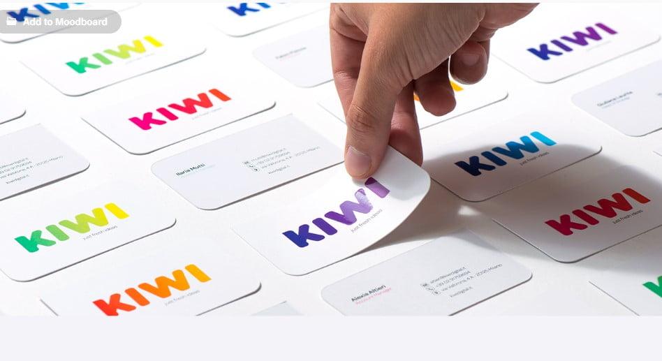 KIWI - 53+ FREE Typographic Business Cards IDEA [year]