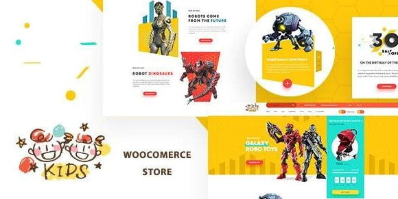 Kids - 35+ COOL Toy and Game Store WordPress Themes [year]