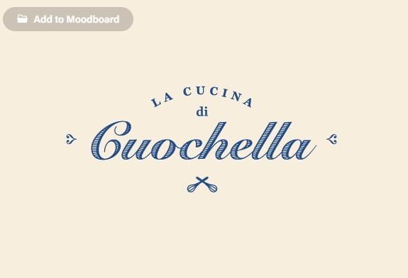 La-Cucina - 53+ FREE Typographic Business Cards IDEA [year]