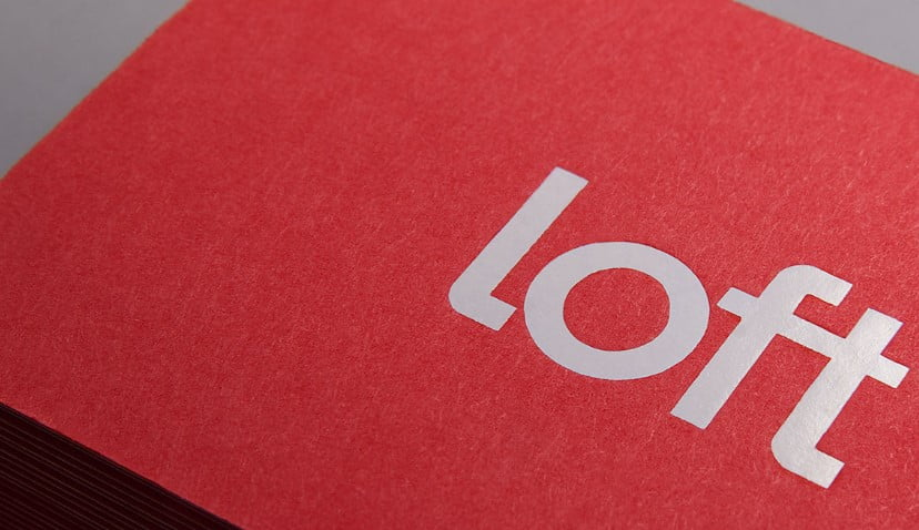 Loft-Investments - 53+ FREE Typographic Business Cards IDEA [year]