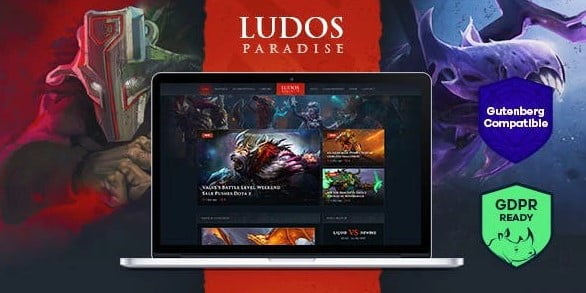 Ludos-Paradise - 35+ COOL Toy and Game Store WordPress Themes [year]