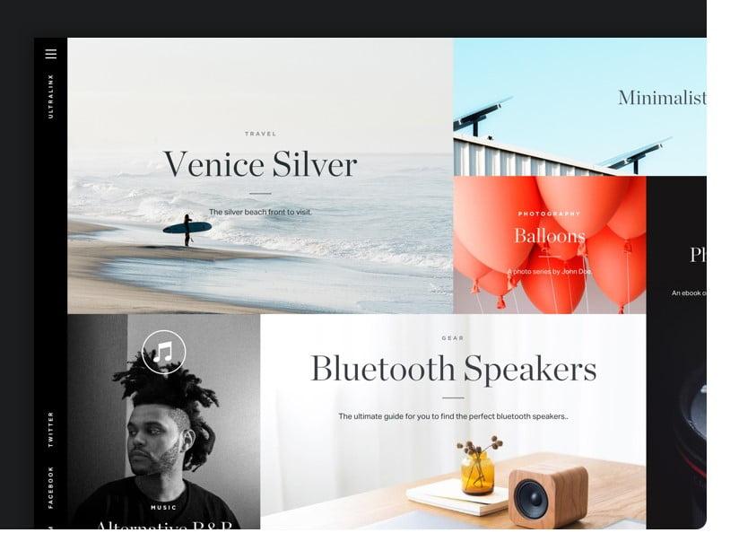Magazine-1 - 63+ BEST FREE Grid Web UI Design IDEA [year]