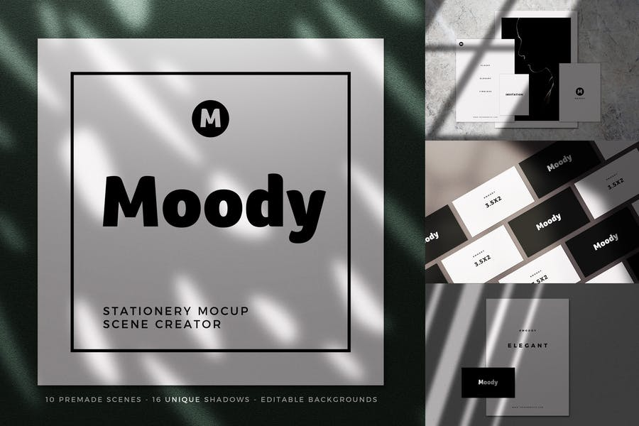 Moody-Stationery - 48+ BEST Web & Graphic Designers PSD Mockup Templates [year]