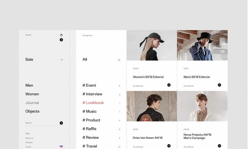 Norse-Store-2 - 63+ BEST FREE Grid Web UI Design IDEA [year]