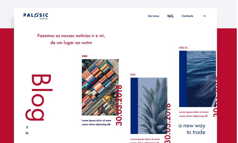 Page-Blog - 63+ BEST FREE Grid Web UI Design IDEA [year]