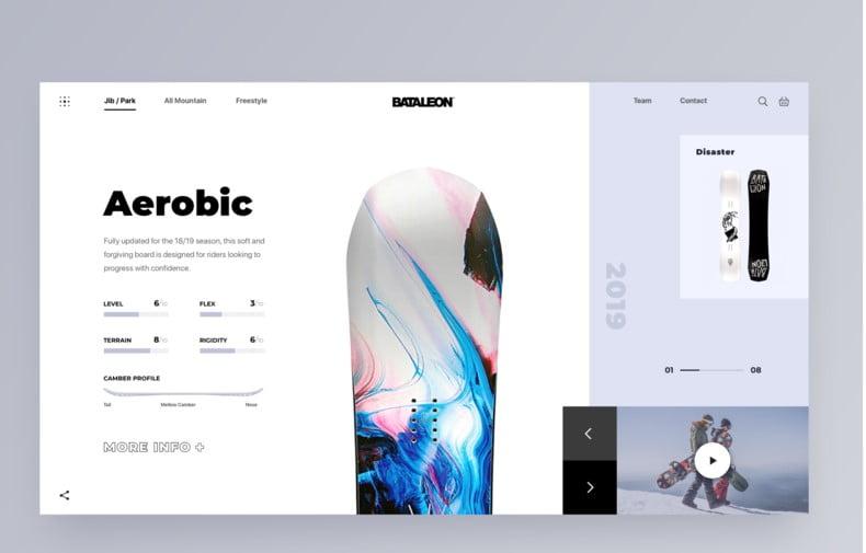 Promo-Website - 63+ BEST FREE Grid Web UI Design IDEA [year]