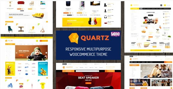 Quartz - 35+ COOL Toy and Game Store WordPress Themes [year]