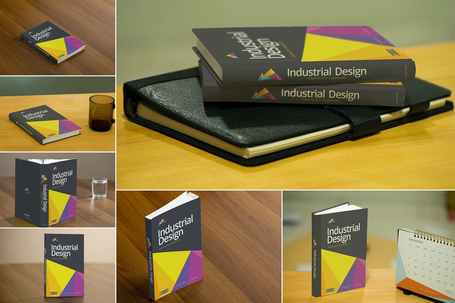 Realistic-Book - 48+ BEST Web & Graphic Designers PSD Mockup Templates [year]