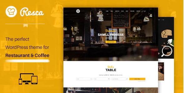 Restaurant-WordPress-Theme - 40+ Coffee & Tea Website WordPress Themes [year]