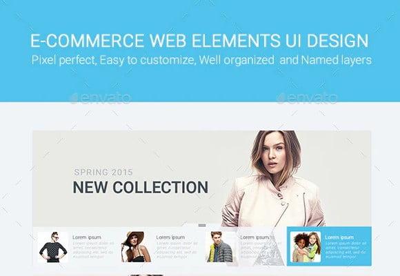 Slade-E-commerce - 63+ BEST FREE Grid Web UI Design IDEA [year]