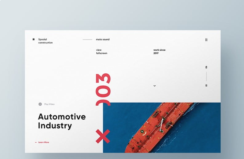 Special-construction - 63+ BEST FREE Grid Web UI Design IDEA [year]
