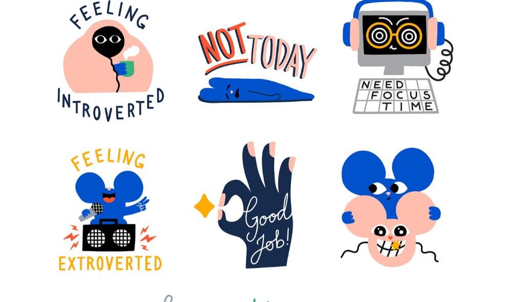 Stickers-for-Atlassian-1 - 33+ FREE Typographic Sticker Designs IDEA [year]