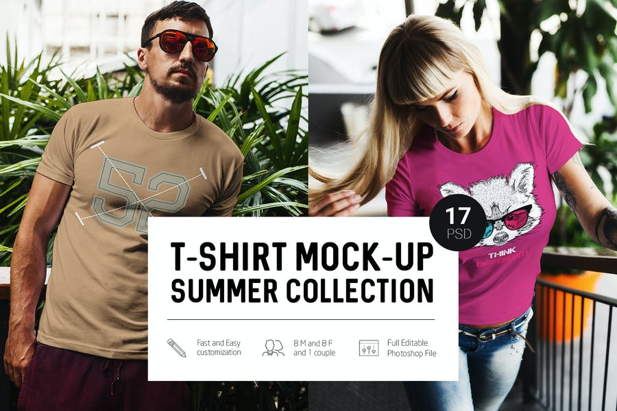 T-Shirt-Mock - 48+ BEST Web & Graphic Designers PSD Mockup Templates [year]