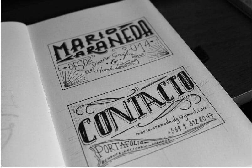 Tarjeta - 53+ FREE Typographic Business Cards IDEA [year]