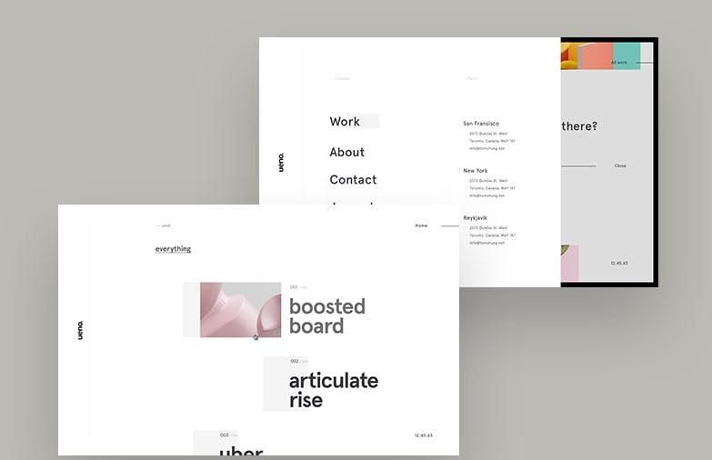 Ueno-Project - 63+ BEST FREE Grid Web UI Design IDEA [year]