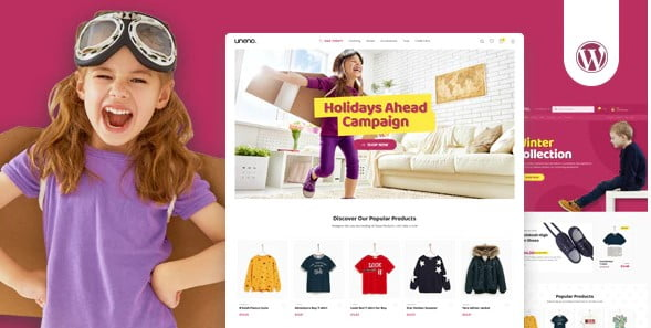 Uneno - 35+ COOL Toy and Game Store WordPress Themes [year]