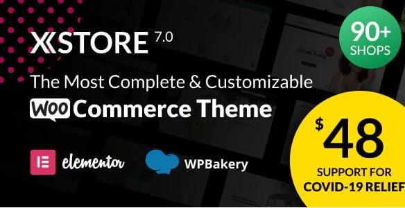 XStore-2 - 40+ Coffee & Tea Website WordPress Themes [year]