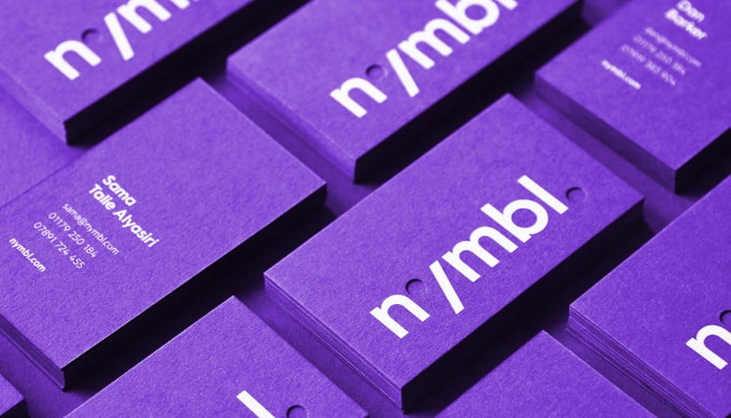 nymbl. - 53+ FREE Typographic Business Cards IDEA [year]