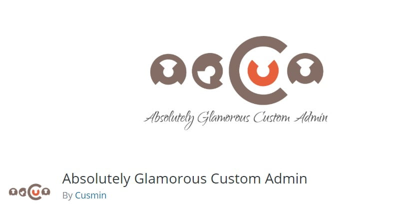 Absolutely-Glamorous - 33+ BEST FREE WordPress Admin UI Themes [year]