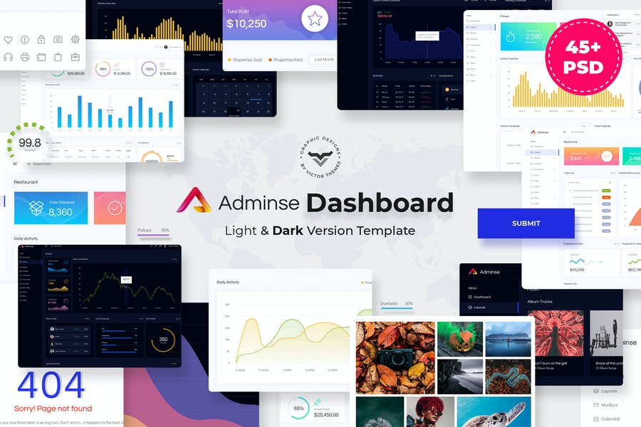 Adminse - 38+ BEST Dashboard PSD & Sketch Templates [year]